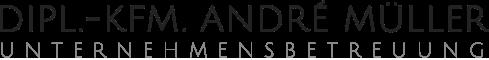 Unternehmensbetreuung Dipl.-Kfm. André Müller - Logo